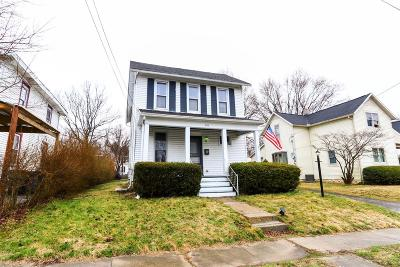 Wilmington OH Single Family Home For Sale: $110,000