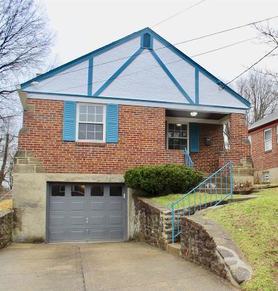 Cincinnati Single Family Home For Sale: 6414 Stover