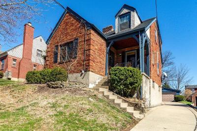 Cincinnati Single Family Home For Sale: 5830 Pandora Avenue