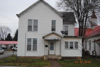 Adams County, Brown County, Clinton County, Highland County Single Family Home For Sale: 62 Vine Street