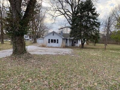 Single Family Home For Sale: 5585 Wolfpen Pleasant Hill Road