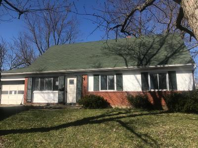Single Family Home For Auction: 2020 Windmill Way