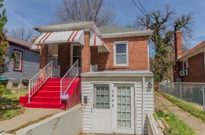 Cincinnati Single Family Home For Sale: 3722 Zinsle Avenue