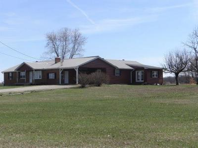 Adams County, Brown County, Clinton County, Highland County Single Family Home For Sale: 1628 Starling Road