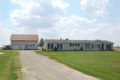 Fayette County Single Family Home For Sale: 5603 Greenfield-Sabina Road