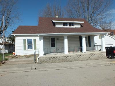 Preble County Single Family Home For Sale: 119 Floyd Street