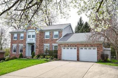 Single Family Home For Sale: 8220 Indian Trail Drive