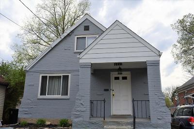 Cincinnati Single Family Home For Sale: 6411 Lisbon Avenue