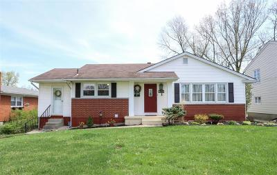 Hamilton County, Butler County, Warren County, Clermont County Single Family Home For Sale: 748 N Dick Avenue