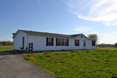 Brown County Single Family Home For Sale: 2877 Bardwell West Road