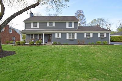Single Family Home For Sale: 7641 Glenover Drive