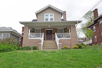 Cincinnati Single Family Home For Sale: 3128 Schubert Avenue
