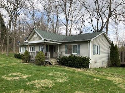 Brown County Single Family Home For Sale: 12886 Locust Ridge New Harmony Road