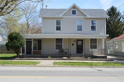 Preble County Single Family Home For Sale: 214 S Barron Street