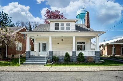 Mt Orab Single Family Home For Sale: 206 E Main Street
