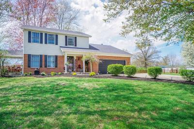 Single Family Home For Sale: 9385 Morrow Cozaddale Road