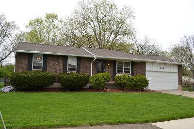 Single Family Home For Sale: 4695 Castleton Drive