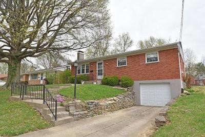 Cincinnati OH Single Family Home For Sale: $106,000