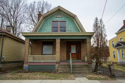 Cincinnati Single Family Home For Sale: 1315 Boyd Street