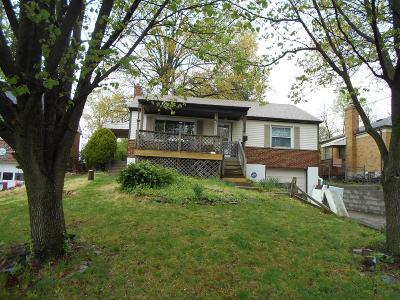 Cincinnati Single Family Home For Sale: 626 Roebling Road