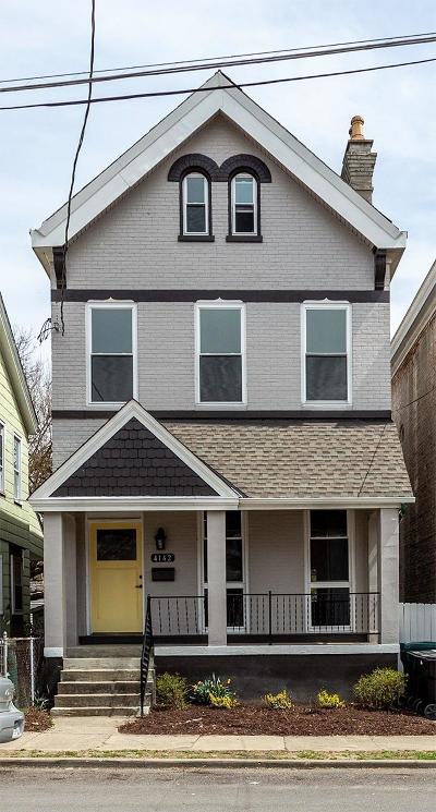 Cincinnati OH Single Family Home For Sale: $289,900