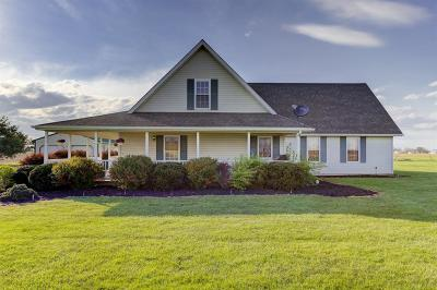 Adams County, Brown County, Clinton County, Highland County Single Family Home For Sale: 1417 Dailey Road