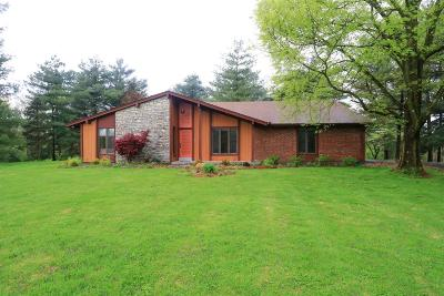 Hamilton County, Butler County, Warren County, Clermont County Single Family Home For Sale: 6727 Olive Branch Road