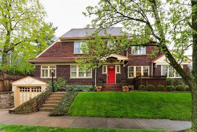 Cincinnati Single Family Home For Sale: 3404 Delta Avenue