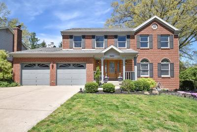Warren County, Clermont County, Hamilton County, Butler County Single Family Home For Sale: 5480 Redoak Drive
