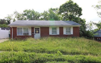 Cincinnati Single Family Home For Sale: 2804 Baker Avenue