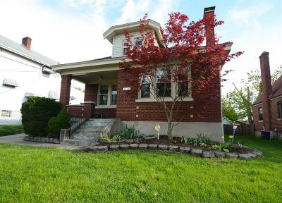 Hamilton County, Butler County, Warren County, Clermont County Single Family Home For Sale: 4209 Harding Avenue