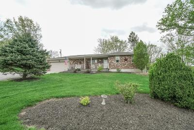 Hamilton County, Butler County, Warren County, Clermont County Single Family Home For Sale: 2219 Keever Road