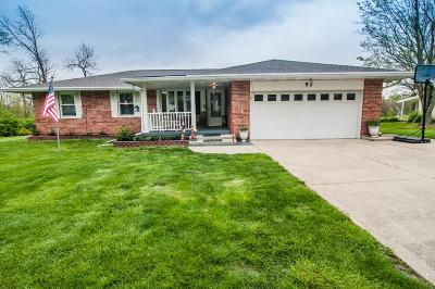 Preble County Single Family Home For Sale: 92 Wagers Drive