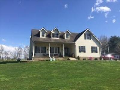 Adams County, Brown County, Clinton County, Highland County Single Family Home For Sale: 469 St Rt 132