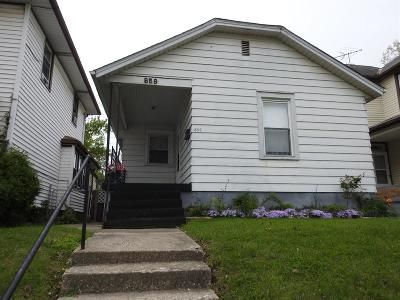 Hamilton Single Family Home For Sale: 859 Ross Avenue
