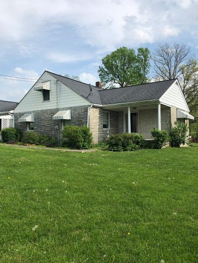 Brown County Single Family Home For Sale: 3964 Layman Road