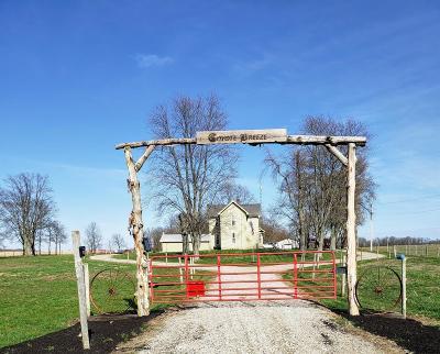 Preble County Single Family Home For Sale: 3690 Wolverton Road