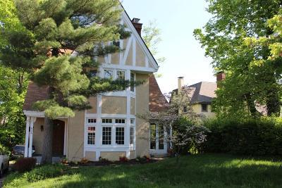 Cincinnati Single Family Home For Sale: 612 Clinton Springs Avenue