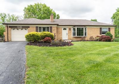 Single Family Home For Sale: 7495 Hunley Road
