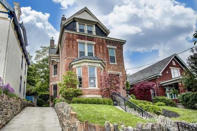 Cincinnati Single Family Home For Sale: 925 Mt Hope Avenue