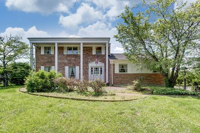 Single Family Home For Sale: 5381 Cleves Warsaw Pike