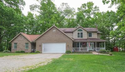 Brookville Single Family Home For Sale: 16098 Messerschmidt Road