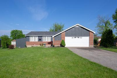 Single Family Home For Sale: 8075 Spring Garden Court