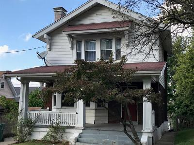Cincinnati OH Single Family Home For Sale: $229,000
