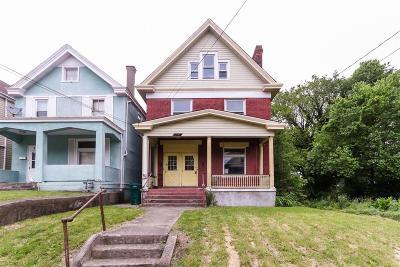 Cincinnati OH Single Family Home For Sale: $90,000