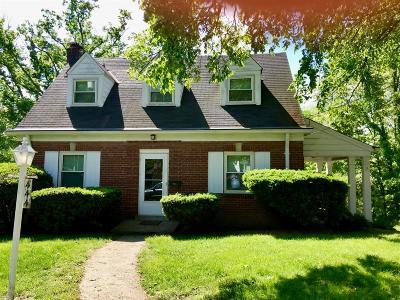 Single Family Home For Sale: 444 Samoht Ridge Road