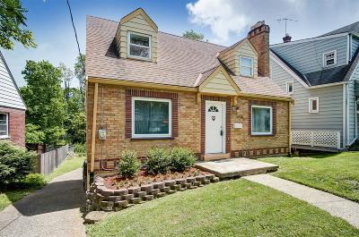 Cincinnati Single Family Home For Sale: 1658 Kellywood Avenue