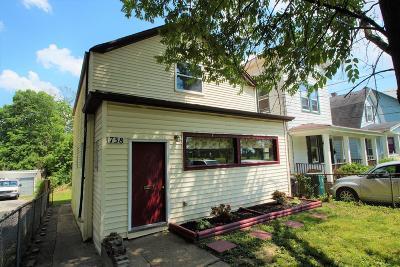 Cincinnati OH Single Family Home For Sale: $71,900