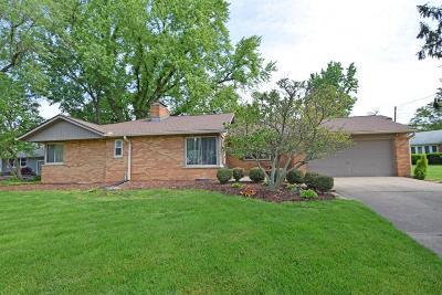 Cincinnati OH Single Family Home For Sale: $205,000