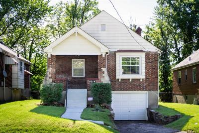 Cincinnati OH Single Family Home For Sale: $179,900